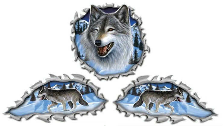 Wolf Decal Kit