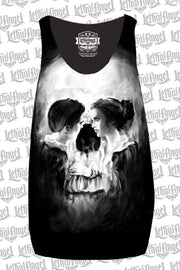 Skull Couple Sublimation Razor Back Tank Top