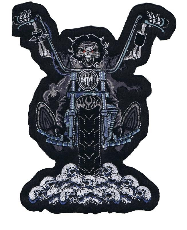 Skull Death Rider Patch