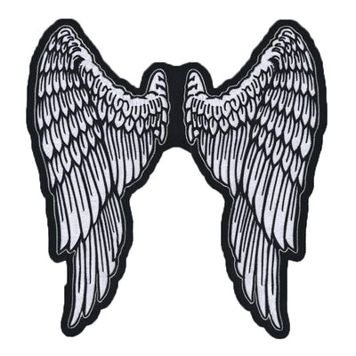 Angel Wings Embroidered Patch