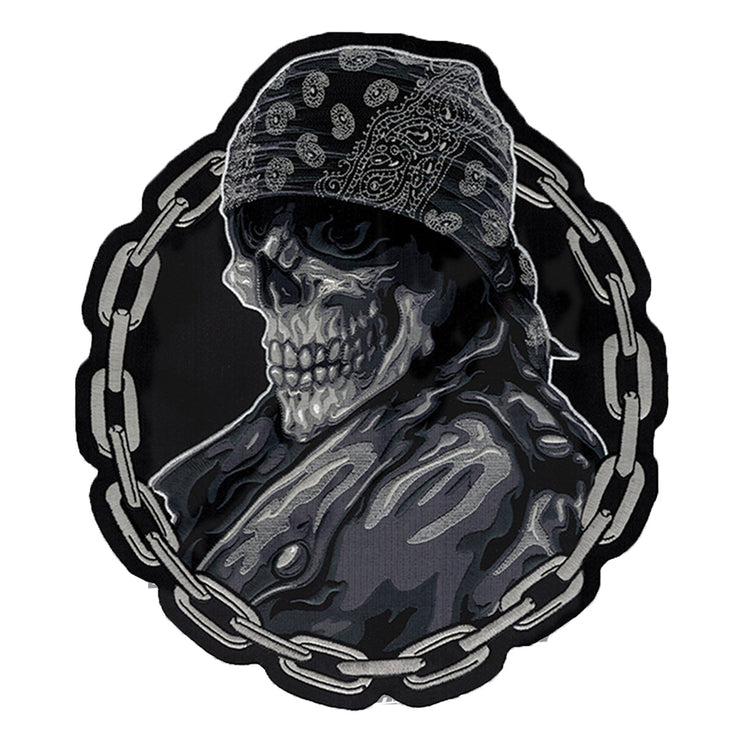 Biker From Hell Embroidered Patch
