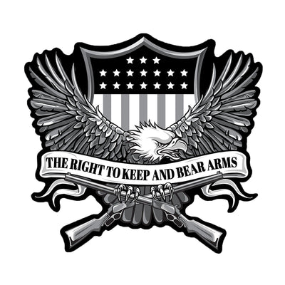 Right To Bear Arm Eagle Patch