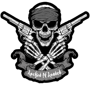 Lock N Loaded Skull Patch