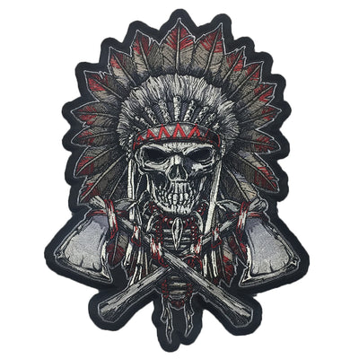 Renegade Skull Embroidered Patch