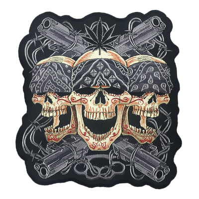 Mean Streets Large Embroidered Patch