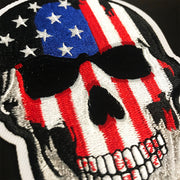 Blood N Glory USA Skull Embroidered Patch
