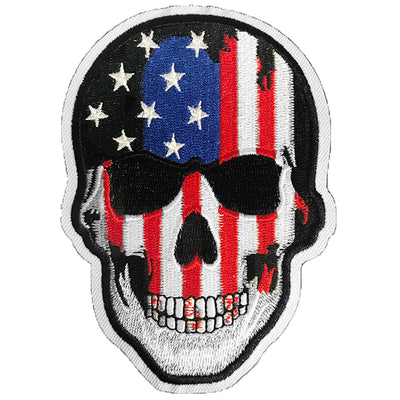 Blood N Glory USA Skull Patch