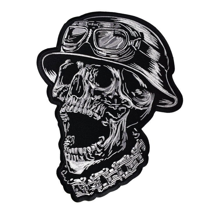 FTW Helmet Skull Embroidered Patch