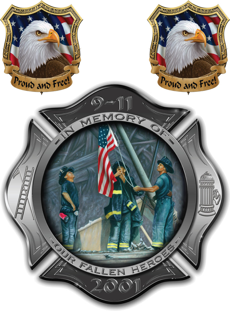 Eagle N 911 Honor Decal Set