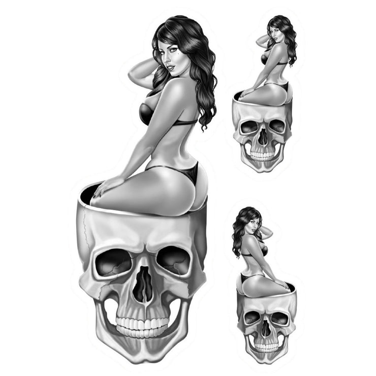 Mini Skull Pinup