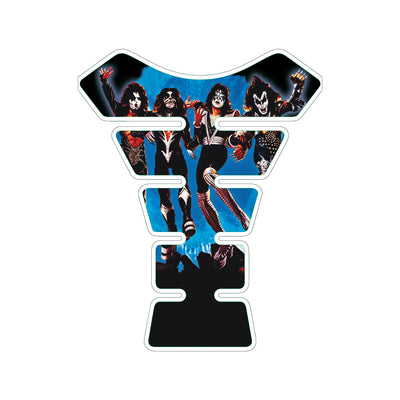 KISS Destroyer Album Blue Motorcycle Tank Pad / Motorcycle Tank Protector