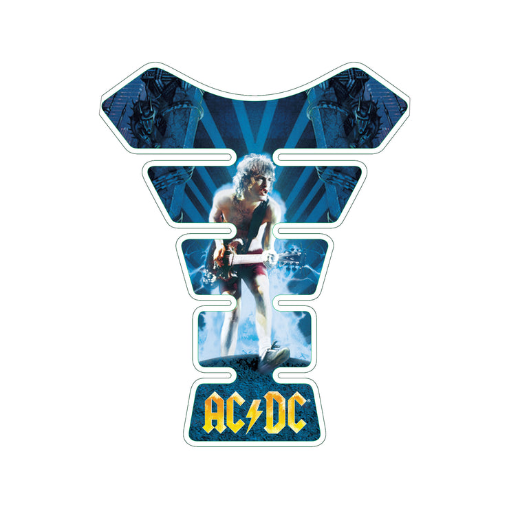 AC / DC Angus Young Ball Breaker Motorcycle Tank Pad / Motorcycle Tank Protector