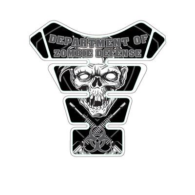 Zombie Defense Motorcycle Tank Pad / Motorcycle Tank Protector