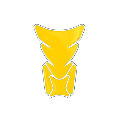 Yellow Chrome  Motorcycle Tank Pad / Motorcycle Tank Protector