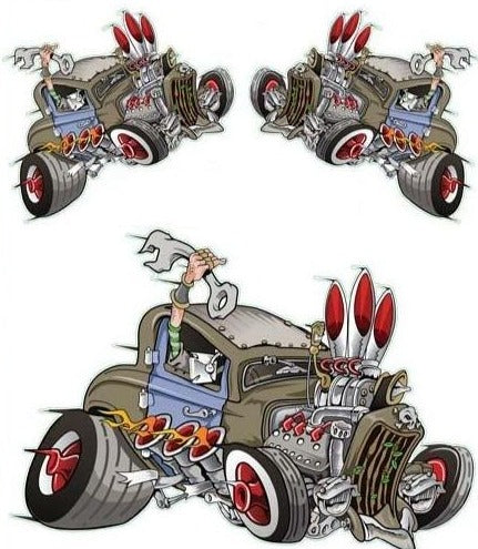 Rat Rod Decal