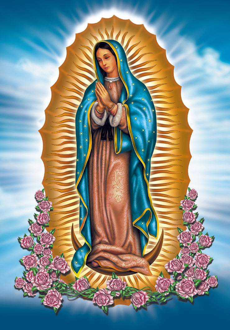 Virgin Mary Decal