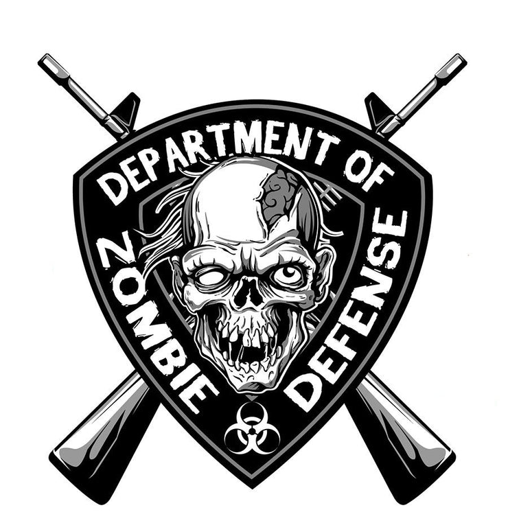 Zombie Defense Decal
