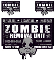 Zombie Removal Unit Decal