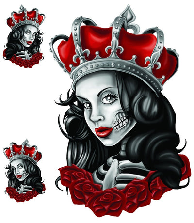 Skull Queen Decal