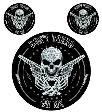 Don't Tread On Me Skull Decal