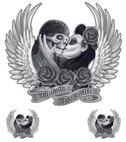 Till Death Couple Decal