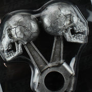 Piston Skull 3D Peel n Stick Emblem