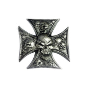 Iron Cross Skulls 3D Peel n Stick Emblem