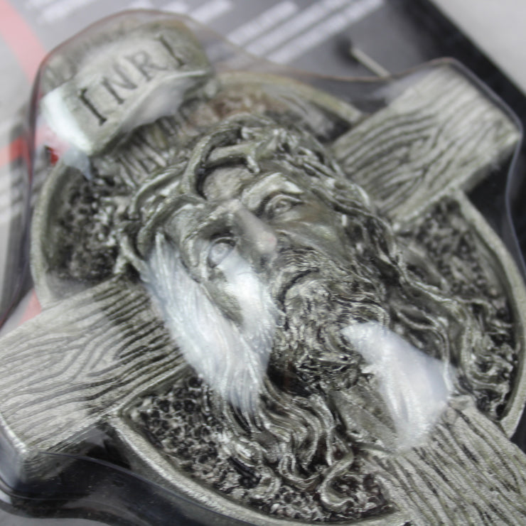 Jesus Head Cross 3D Peel n Stick Emblem