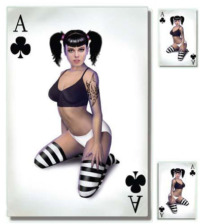 Ace of Clubs Girl