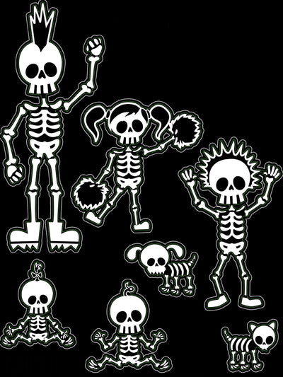 Bone Family Decal Kit