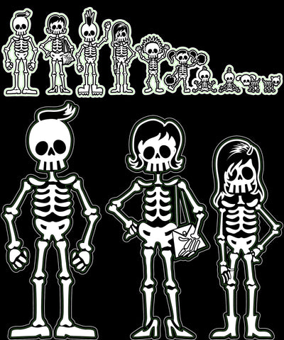 Bone Family Decal