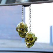 3D Rear View Zombie Mirror Dangler