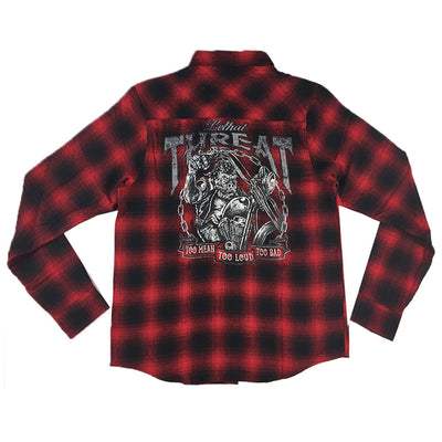 GORILLA RED PLAID