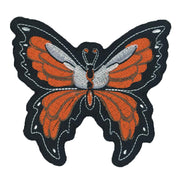 Orange Butterfly Mini Patch