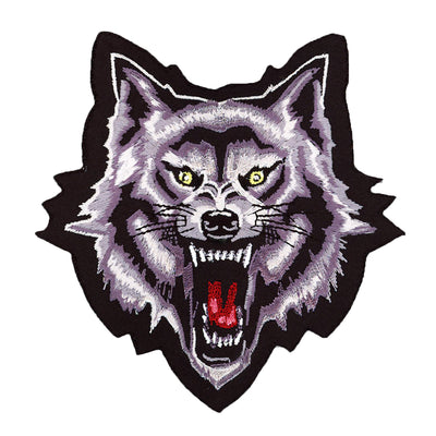 Wolf Head Mini Patch