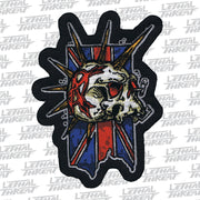 Punk Skull Mini Patch