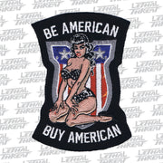 Buy American Pin Up Embroidered Patch