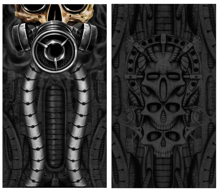 Biomechanical Skull Face Mask / Gaiters