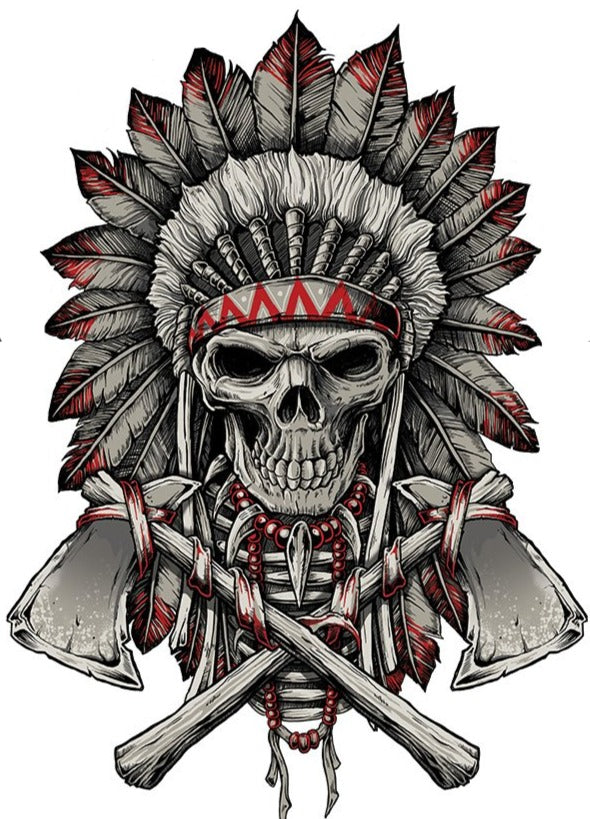Renegade Skull Decal