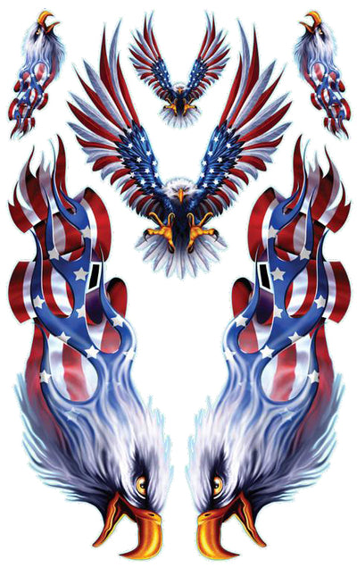 USA Flag Eagle Kit