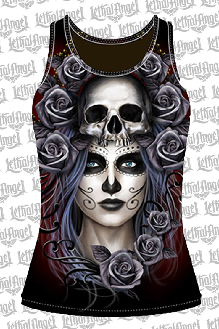 Queen of Death Razor Back Tank Top