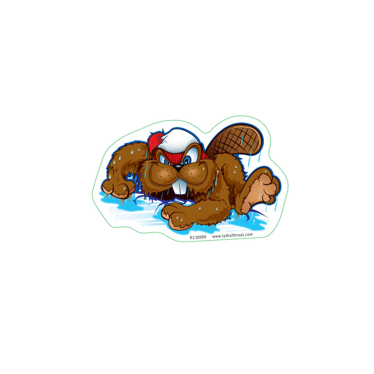 Wet Beaver Sticker