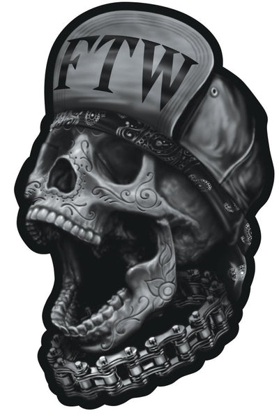 Rude & Crude Decal: FTW Skull