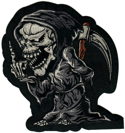 Reaper Finger Embroidered Patch
