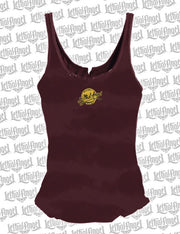 Lethal Angel Roadhouse Lace Up Tank Top