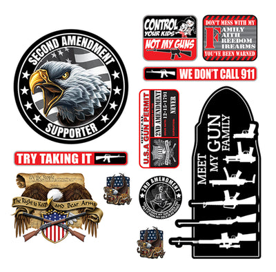 2nd Amendment Decal Series