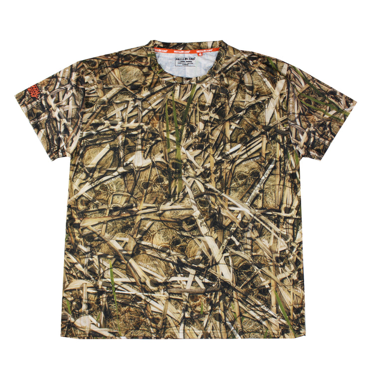 Men's Sawgrass Skull Camo T- Shirt