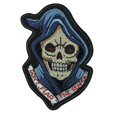 Reaper Head  Vintage Embroidered Patch