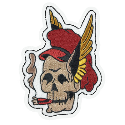Wing Skull Patch