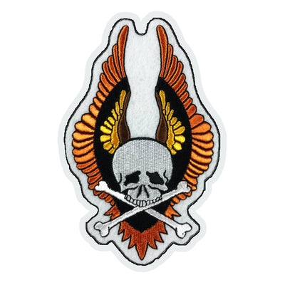 WINGED VIN SKULL